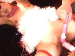 Hottest Japanese chick Shoko Hamasaki in Fabulous Dildos/Toys, BDSM JAV clip