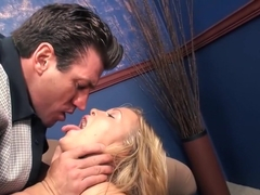 Horny pornstar Sasha Knox in best squirting, anal adult clip
