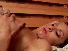 Exotic bdsm, fetish adult video with crazy pornstars Chanel Preston, Katrina Zova and Lea Lexis fr.
