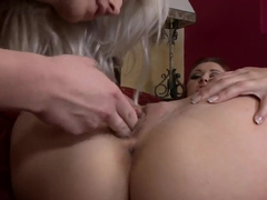 Sweet Karlia Montana is having an passionate lesbian sex