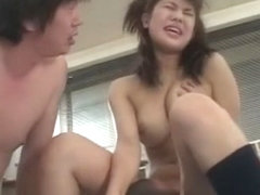 Fabulous Japanese chick Sora Aoi in Crazy Babysitters, Cunnilingus JAV clip