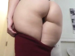 Friend teases with ass joi