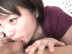Incredible Japanese chick in Crazy Blowjob, HD JAV clip