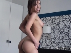 Great booty amateur anal banged pov in homemade
