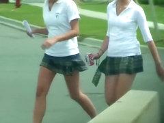 Sexy schoolgirls in hot uniforms