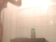 Girl in shower spy cam clip sexy bushy cunts show