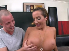 Richelle Ryan Gets Her Fat Pussy CreamPie