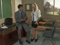 Bad teacher fucks his pretty and very sexy student Alektra Blue