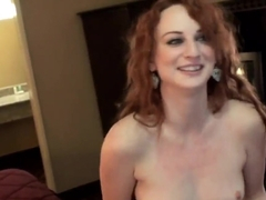 Petite babe Audrey Lords gives head to Ramon