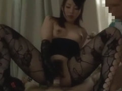 Amazing Japanese girl Mayuka Akimoto, Mai Henmi in Crazy Doggy Style, Latex JAV video