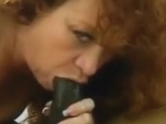 Whore milf deepthroating lover's BBC after riding cowgirl