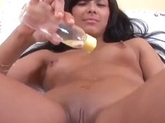Cuddly Nympho Is Gaping Narrowed Fuckbox In Close Up And Get