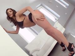 Super hot cutie Clarissa enjoys cum inside getting creampie on All Internal