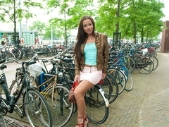 Lonely Chick in Amsterdam