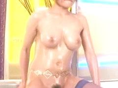 Crazy Japanese girl Rio Fujisaki in Horny Big Tits, Stockings/Pansuto JAV movie