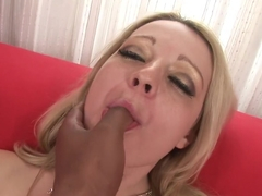 Exotic pornstar in amazing interracial, cumshots adult clip