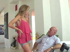 Horny pornstar Jodie Moore in crazy anal, cunnilingus adult scene
