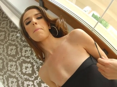 AssTraffic Firsttime ass fucking ends with cum swallow