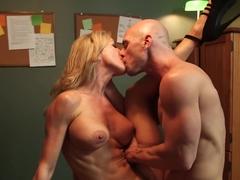 Brandi Love & Johnny Sins in Naughty Office