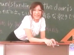 Fabulous Japanese model Misa Ando in Horny Stockings, Masturbation JAV scene