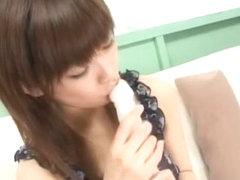 Incredible Japanese chick Hikari Hino in Hottest Dildos/Toys, Fingering JAV clip