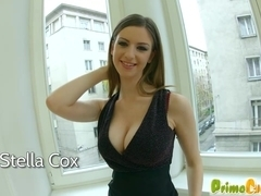 Prime Cups Stella Cox Gets her big tits creamed