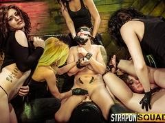 Pain Slut Aryah May Begs Brooklyn Daniels & Mila Blaze for Lesbian Domination