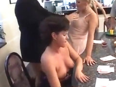 Orgy for a group of dirty milfs