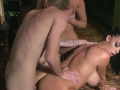 Ava Koxxx, Danny D and Leigh Darby