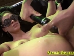 Contorted bound ### throated