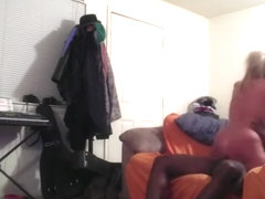 White woman fucked by big black cock