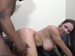 Best pornstars Prince Yahshua, Lylith Lavey in Crazy Interracial, Big Tits sex scene
