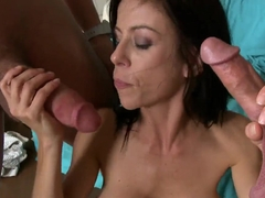 Hot gorgeous pornstar Alexis Fawx does her job very nice