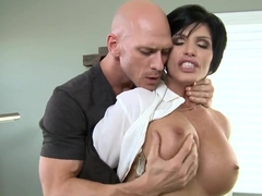 Naughty FBI agent Shay Fox fucks suspect Johnny Sins