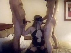Masked Wife Takes 2 Knobs