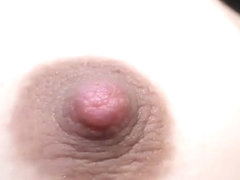 Fingering her tight ass and spreading her pussy lips
