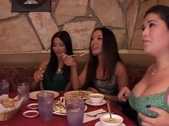 London Keyes, Miko Sinz and Suzanne Kelly