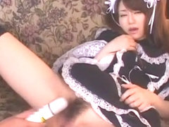 Best Japanese girl Akiho Yoshizawa in Incredible Maid, Masturbation JAV movie