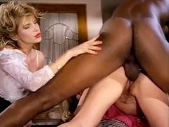 Barbarella, Moana Pozzi, Sean Michaels in well-hung black retro porn star doing latin chicks