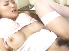 Good looking Yuki Touma fucks a patient and makes him cum