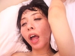 Yuka Osawa drilled by 3 dudes