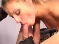 Femdom Handjob Latex Facesitting BJ Cum Eating