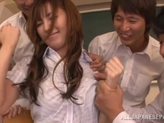 Tsubasa Amami is another sexy teacher, who loves hot sex