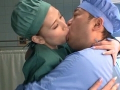 Things get hot in the hospital when doctor Ai Sayama shows her ass