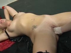 Axa Jay,Emma Fox in PornXN video:Dungeon Fisting