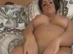 My breathtakingly beautiful girlfriend shows off her curvy body
