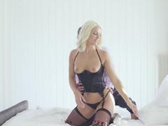 Amazing pornstar Blanche Bradburry in Crazy Small Tits, Stockings xxx video