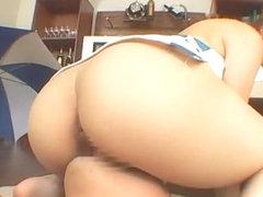 Crazy Japanese model in Fabulous Cunnilingus, Swallow JAV movie