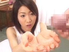 Exotic Japanese whore Akari Satsuki in Crazy POV, Cumshots JAV scene
