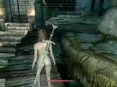 Perils of escaped Skyrim slavegirl 16
